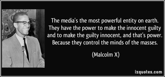 Malcolm X on the news media