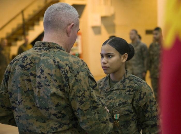 Corporal Nelfi Tineoferreiras, USMC