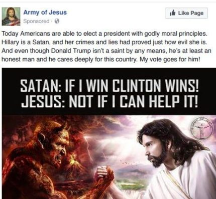 Army of Jesus - Russian Troll Hacking