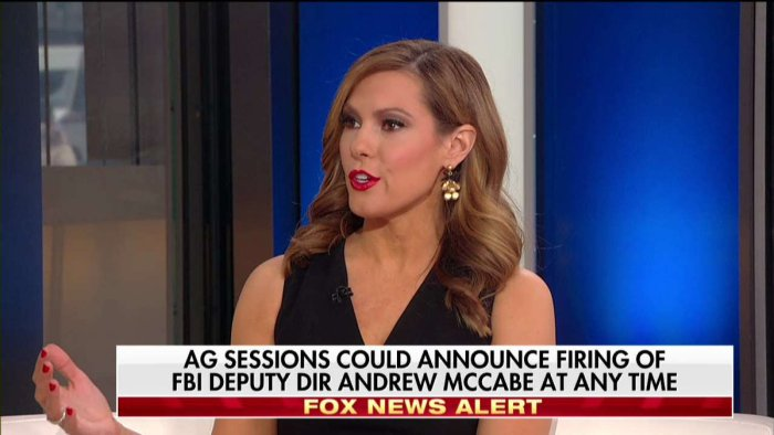 Lisa Marie Boothe on Fox News about McCabe
