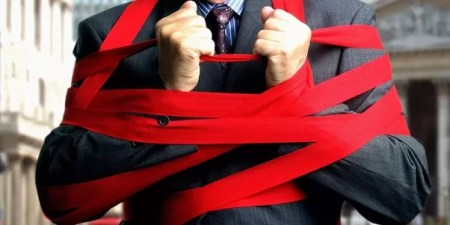 Encircled by Red Tape