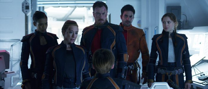 The new Robinson family on Lost in Space – 2018