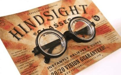 Hindsight glasses