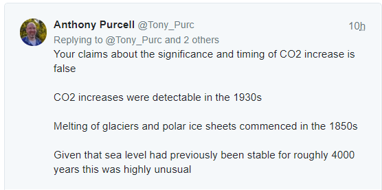 Anthony Purcell tweet to Roger Pielke Sr.