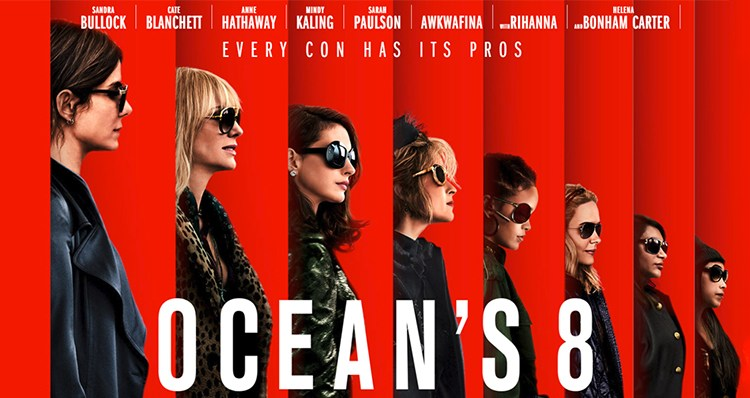 "Poster for ""Oceans 8"""