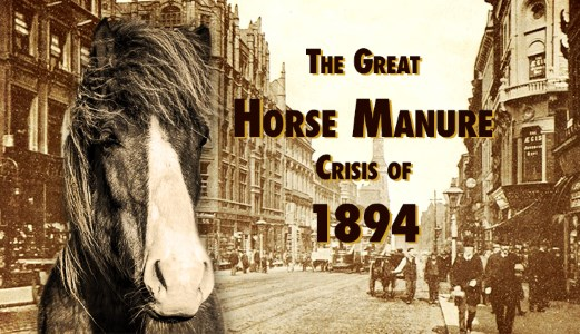 The Great Horse Manure Crisis of 1894
