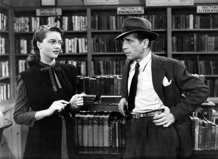 "Dorothy Malone in ""The Big Sleep."""
