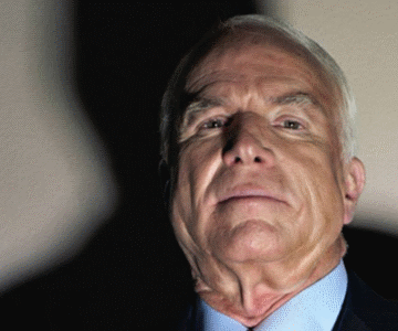 Shadows of John McCain