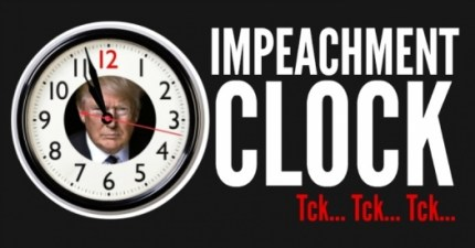 Trump impeachment clock: tck, tck