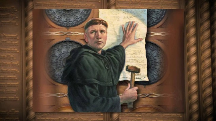 Martin Luther starts the Reformation in 1517