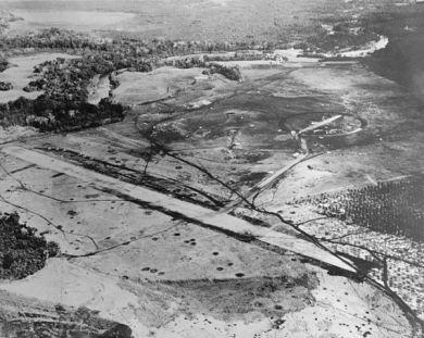 Henderson Field on Guadalcanal in late August 1942
