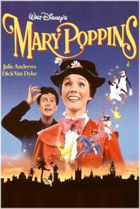 """""""Mary Poppins"""" poster"""