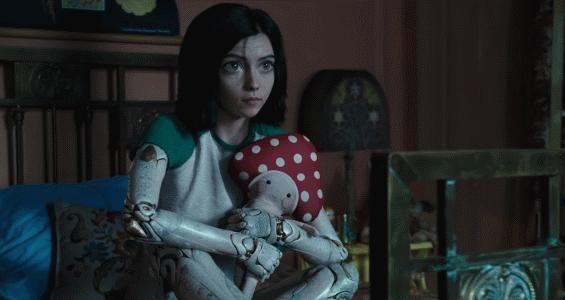 Alita with her teddy bear