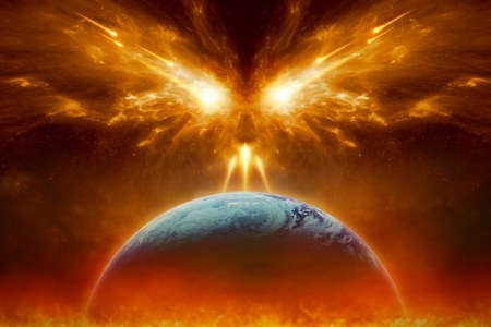 Burning World - dreamstime_108149276