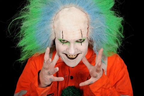 Crazy clown - Dreamstime_8055059