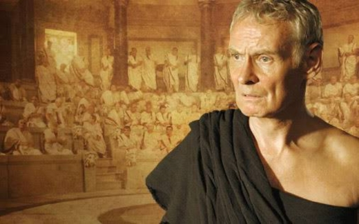 """Cato the Younger - played by Karl Johnson in HBO's """"Rome"""""""