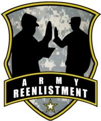 Army Reenlistment Logo