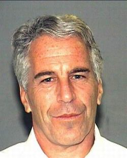 Mugshot of Jeffrey Epstein