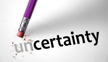 "An eraser turns ""uncertainty"" into ""certainty."""