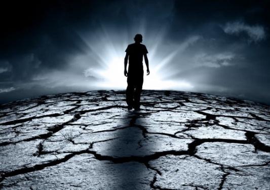 Walking to a bleak future - Dreamstime-25163217