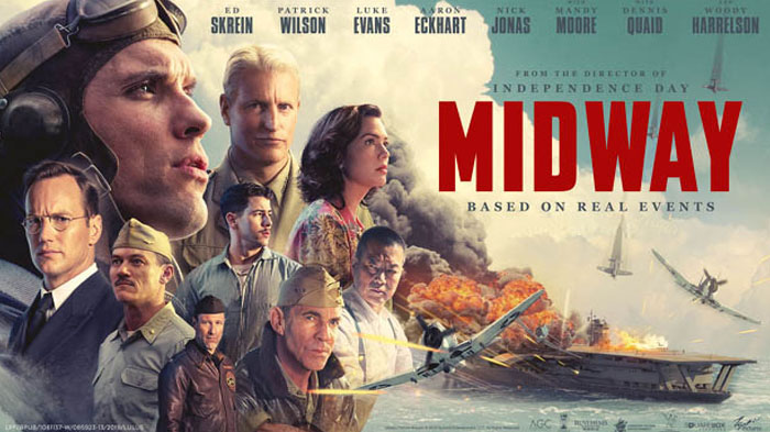 """Poster for """"Midway"""" (2019)"""