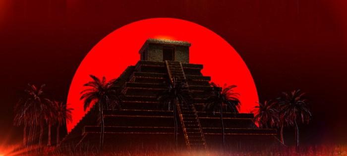 Mayan Aztec Pyramid - Dreamstime-140069039
