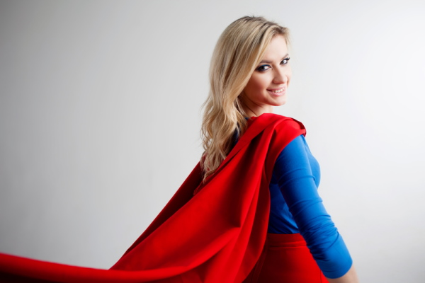 Woman Superhero - Dreamstime-90707807