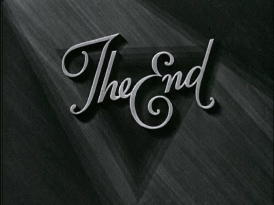 """The End"""