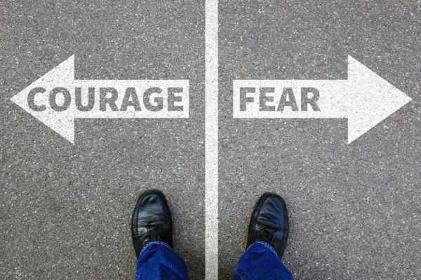 Courage or Fear -Dreamstime-94503947