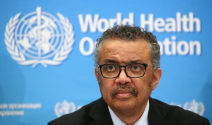 Tedros Adhanom Ghebreyesus, Director-General of WHO