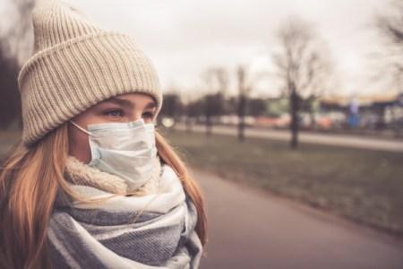 Woman in an Epidemic - AdobeStock-318270393
