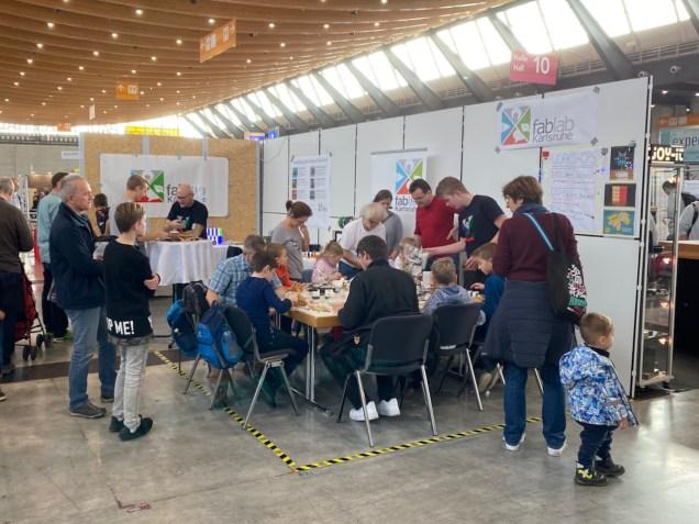 Das FabLab beim Morgenmacher-Festival in Stuttgart