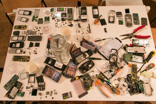 Démontage de smartphone