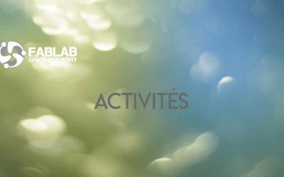 Les activités reprennent au FabLab