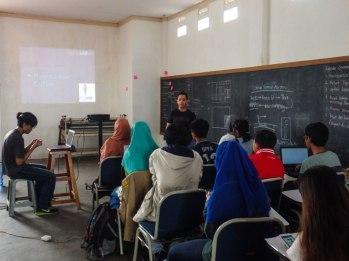 Open class dibuka oleh Mas Al
