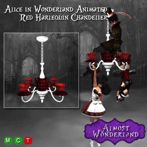 Alice-in-Wonderland-Animated-Red-Harlequin-Chandelier