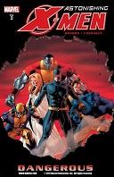 Marvel's Astonishing X-Men Volume #02: Dangerous Book Cover