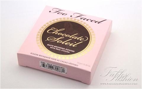 Too Faced Chocolate Soleil Matte Bronzing Powder - Milk Chocolate