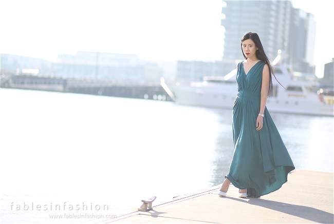 Fables Emerald Dress
