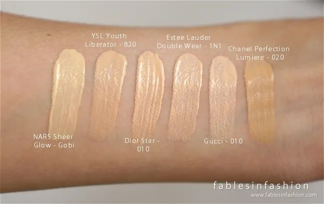 Diorskin Star Fluid Foundation Review Swatches And Photos
