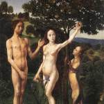 The Fall: Adam and Eve Tempted by the Snake