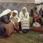 Women of Ruokolahti on the Church Hill