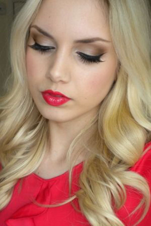 Red Makeup Face 20 Valentine 39;s Day Face Makeup Ideas Looks Trends 2016