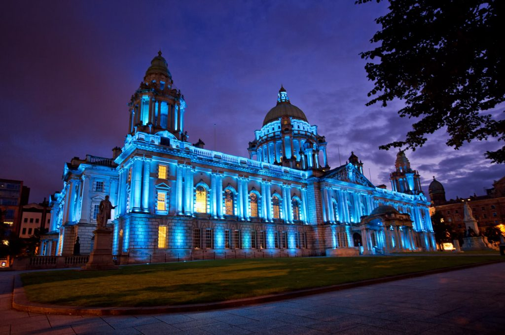Belfast-City-Hall-at-Night