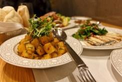 Batata Harra at Mijana restaurant in The Ritz-Carlton Abu Dhabi