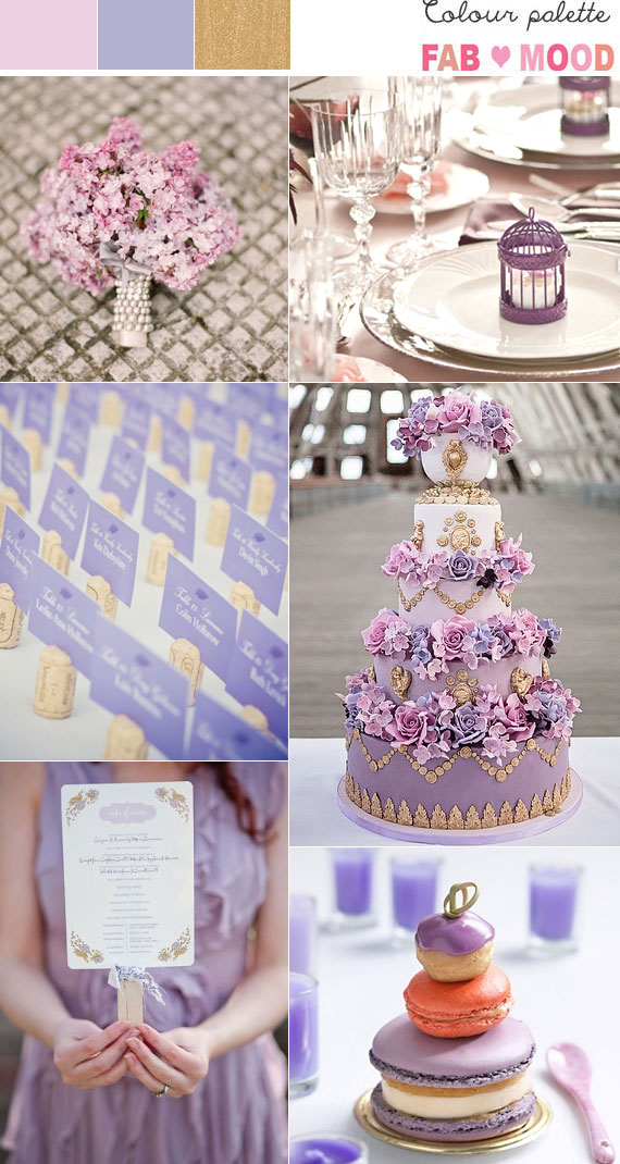 dusty pink and gold weddinglilac and gold wedding colors