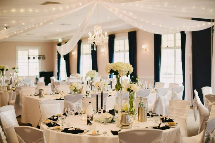 Black & White Wedding Reception - Fab Mood