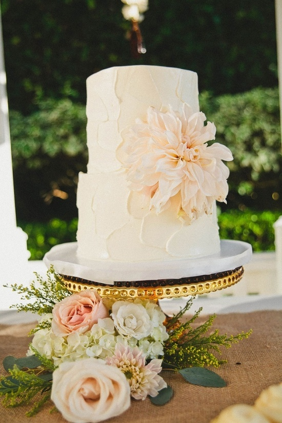 Buttercream wedding cake ideasFrosting