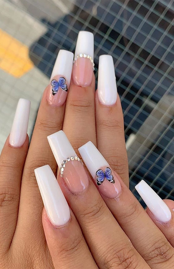 Pictures Of Cute Nails : pictures, nails, These, Acrylic, Nails, Really, Coffin, Nails,, Summer