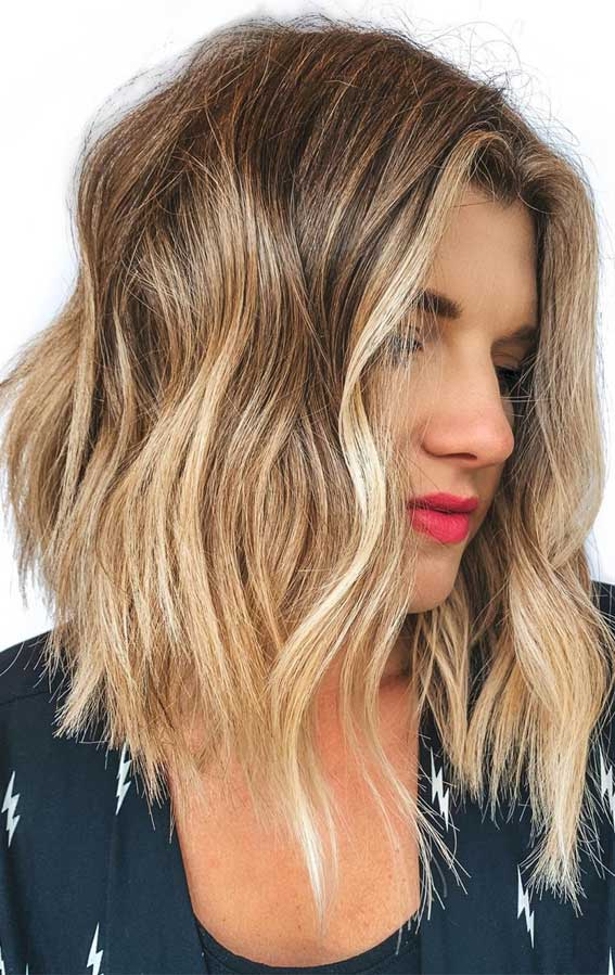 Low Maintenance Fine Hair Medium Length Hairstyles : maintenance, medium, length, hairstyles, Maintenance, Haircuts, Hairstyles, Effortless, Stylish, Looks